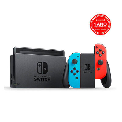Consola Nintendo Switch Neón