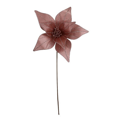 Flor Decorativa Rose Santini 50 cm