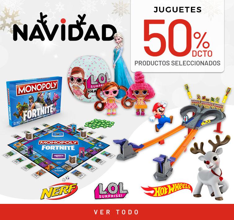 50% dcto productos seleccionados | Juguetes | NERF, LOL, Hot Wheels