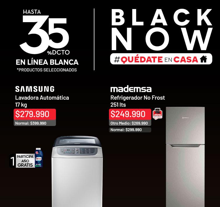 35% dcto. en Línea Blanca *Productos Seleccionados | Lavadora Automática Samsung WA17F7L6DDW 17 kg.