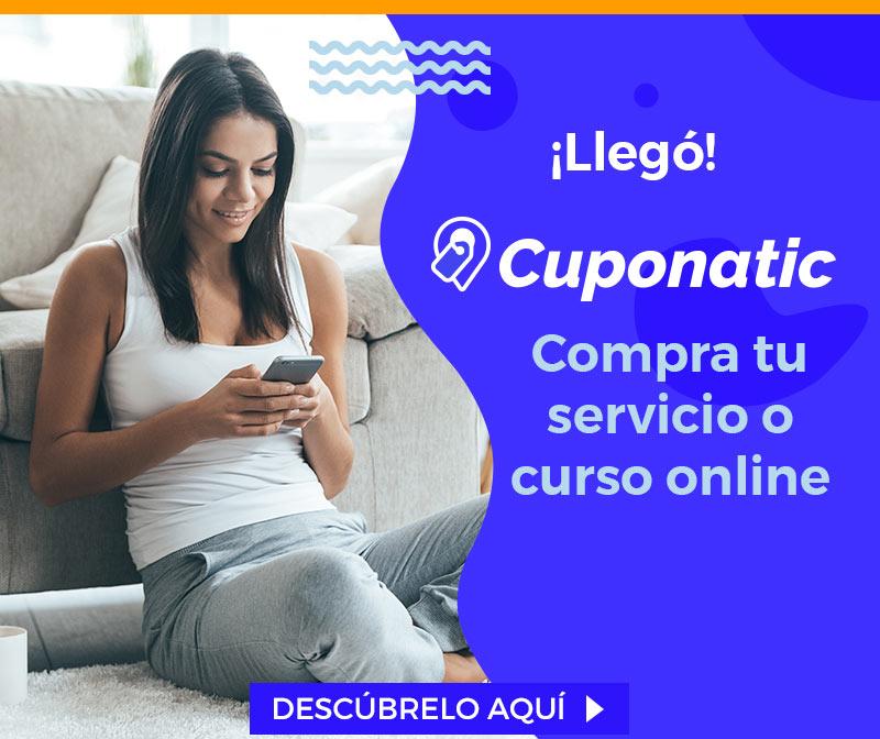 ¡Llegó Cuponatic! | Compra tu Servicio o Curso Online