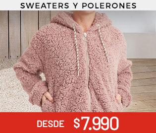 Sweaters y Polerones