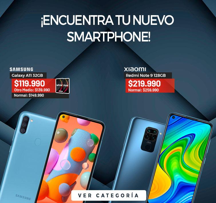 ¡Encuentra tu nuevo Smartphone! | Samsung Galaxy A11 32GB | CTA Ver Categoría