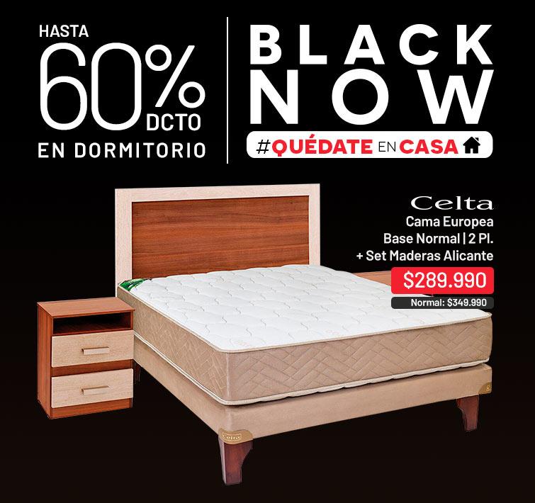 Hasta 60% dcto. en Dormitorio | Cama Europea Super King Div New Style 6