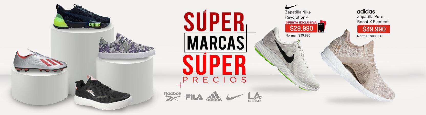 Supermarcas zapatillas