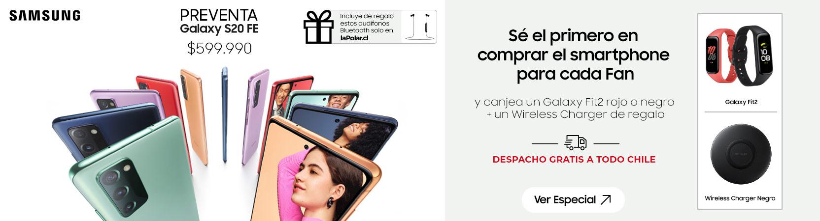 Gráfica Samsung   Lanzamiento S20 FE