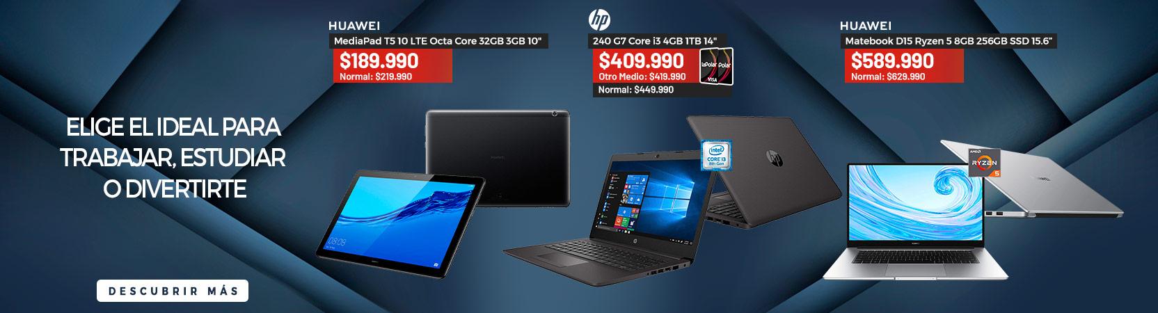 Elige el ideal para trabajar, estudiar o divertirte | Tablet Huawei MediaPad T5 10 LTE Octa Core 32GB 3GB 10