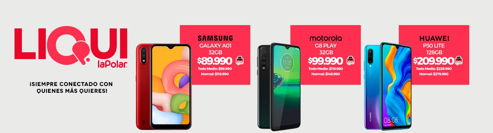 ¡Siempre conectado con quienes más quieres!  Samsung Galaxy A01 32GB