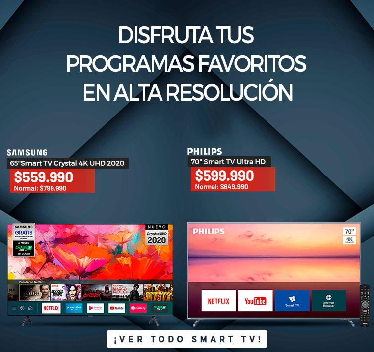 Disfruta tus programas favoritos en Alta Resolución  |  43 Master-G MGA4300 Smart TV Full HD | CTA Ver todo Smart TV