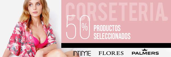 Logo de marcas   Intime - Flores - Palmers   50 productos seleccionados