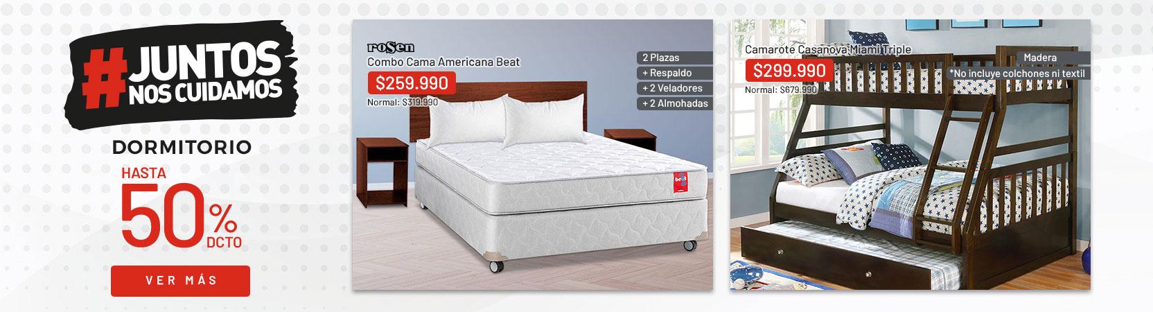 Dormitorio Hasta 50% dcto
