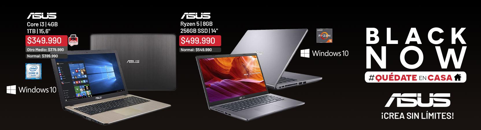 logo Asus | ¡Crea sin límites! | Notebook X540UA-GQ3100T Core i3 4GB 1TB 15,6