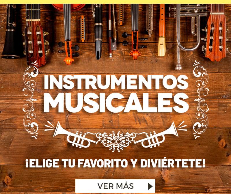 Especial Instrumentos Musicales | ¡Elige tu favorito y diviértete!