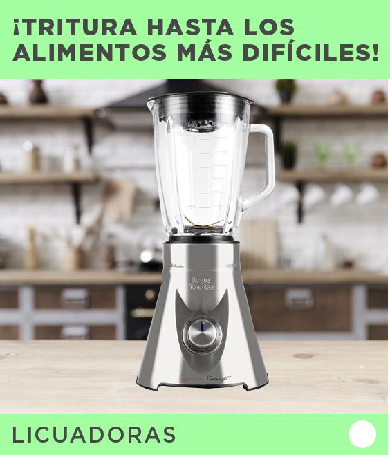 Etiqueta Licuadoras | ¡Tritura hasta los alimentos más difíciles! |  Ursus Trotter (logo) UT-METALLEK705 1,75 lt.