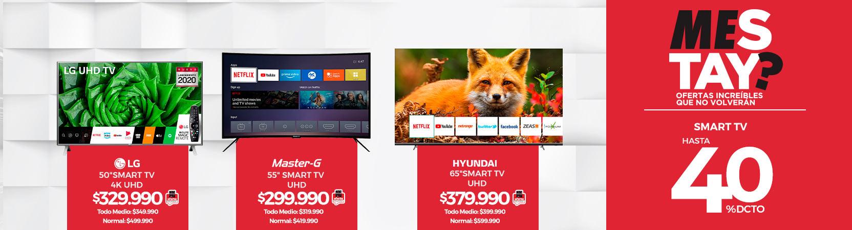Hasta 40% dcto. en Smart TV | 50 LG 50UN8000PS Smart TV 4K Ultra HD