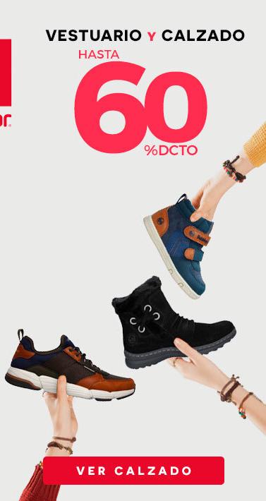 Liqui 60% dcto. Vestuario y Calzado   Logo Marcas Calzado: Panama Jack - CAT - Skechers - Nike - Adidas - Puma