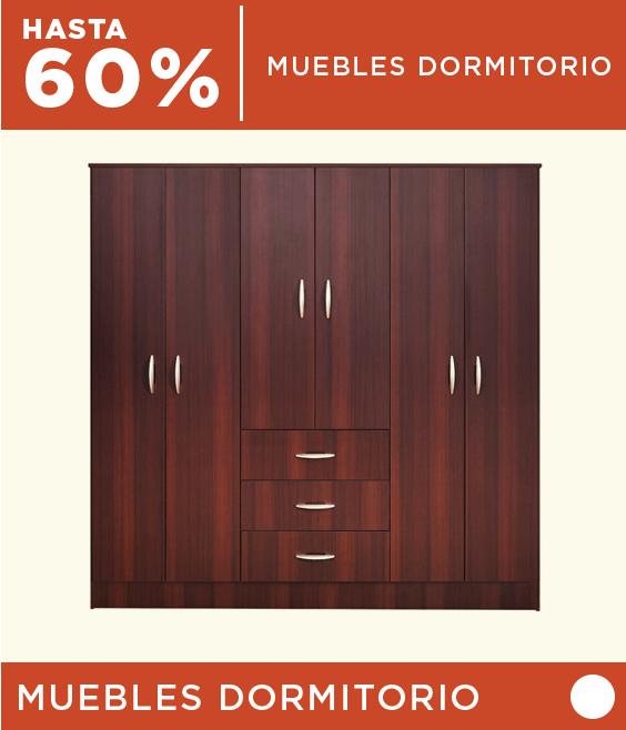 Hasta 60% dcto. en Muebles de Dormitorio