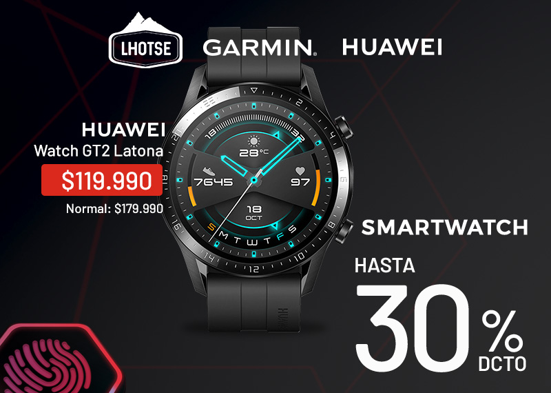 smartwatch hasta 25% dcto