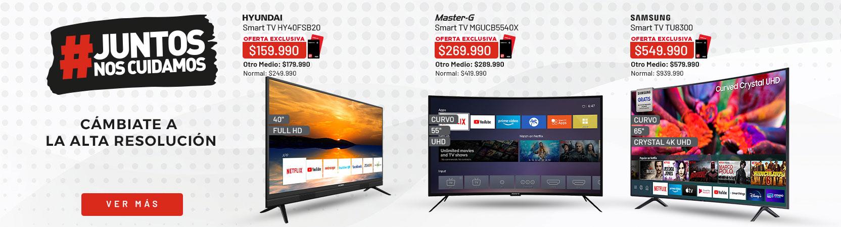 Smart TV    Cámbiate a la alta resolución