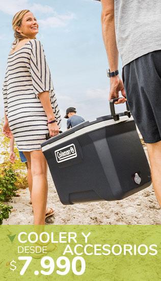 Cooler y Accesorios Camping | Desde $7.990