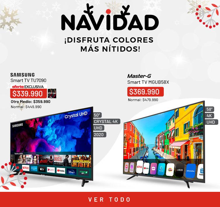 Smart TV¡Disfruta colores más nítidos!