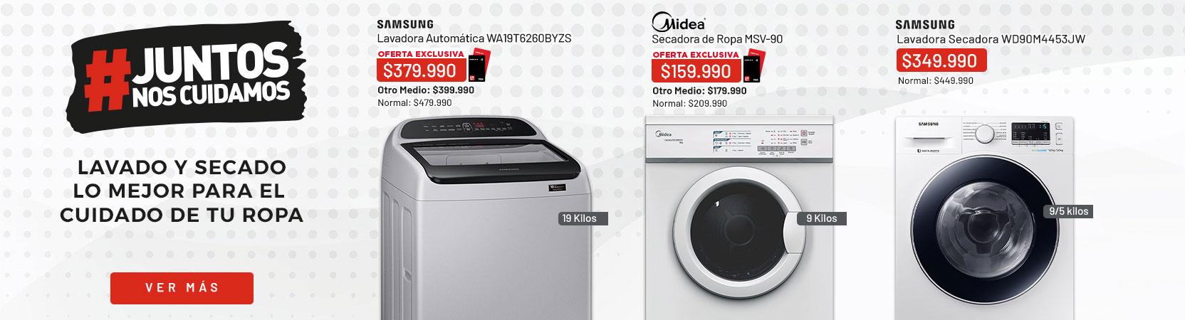 Lavado y Secado   Lo mejor para el cuidado de tu ropa