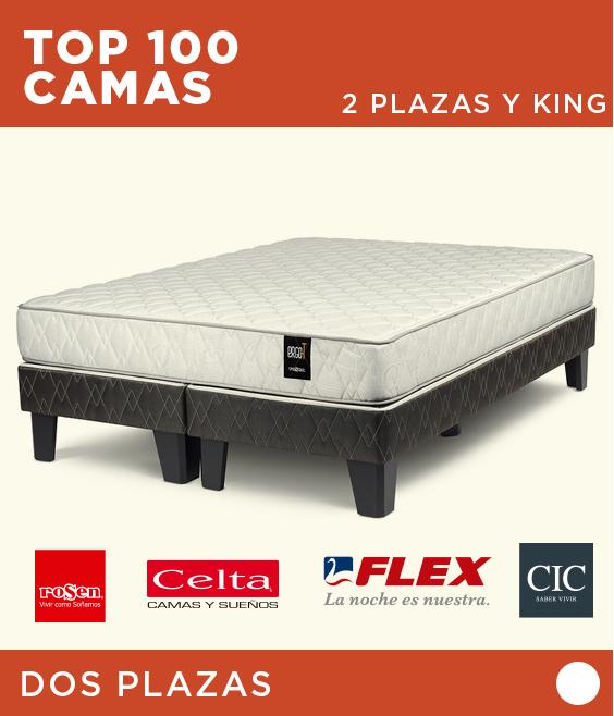 TOP 100 Camas 2 Plazas y King | Rosen, CIC, Celta, Flex