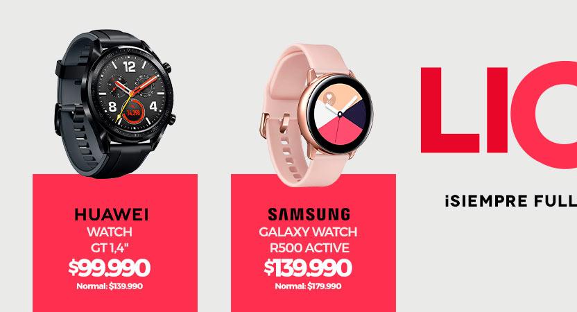 ¡Siempre full conectado!   Smartwatch   Huawei WATCH GT