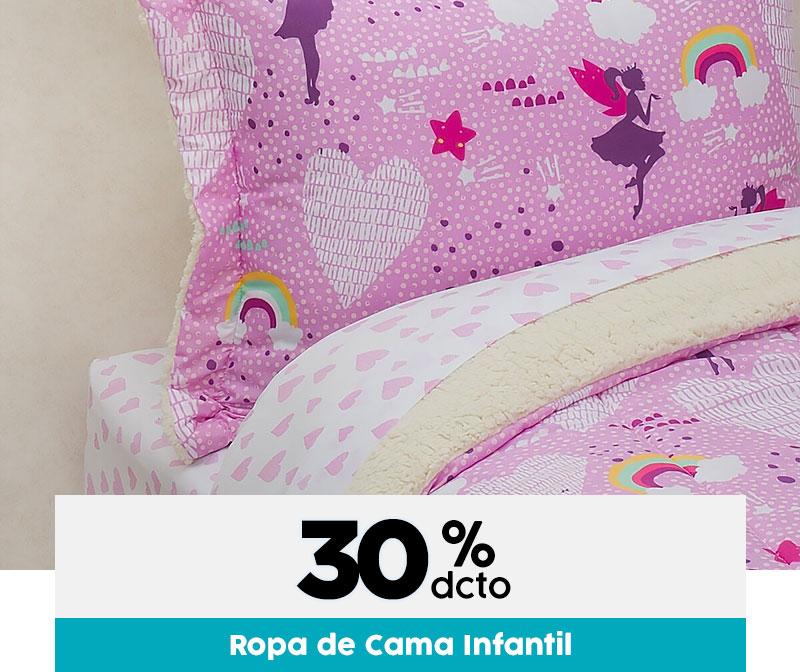 30% dcto en Ropa de cama infantil