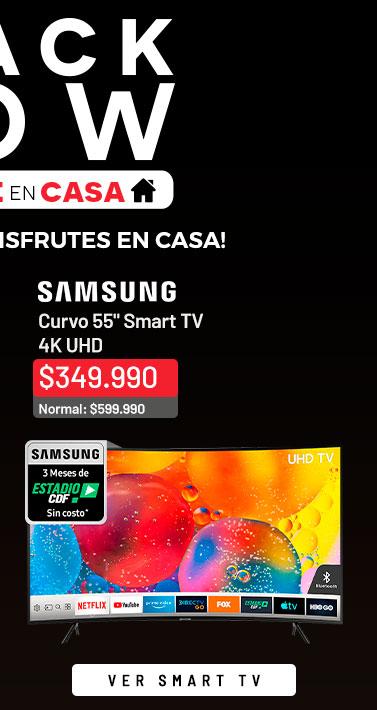 Curvo 55 Samsung URU7300 Smart TV 4K UHD