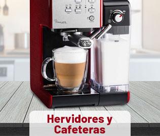 Hervidores y Cafeteras