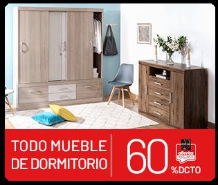 todo mueble de dormitorio hasta 60% descuento tarjeta la polar