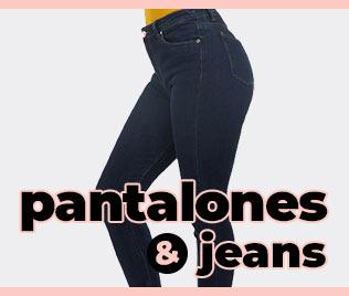 jeans y pantalones