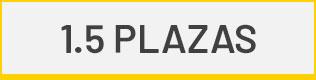 1.5 plazas